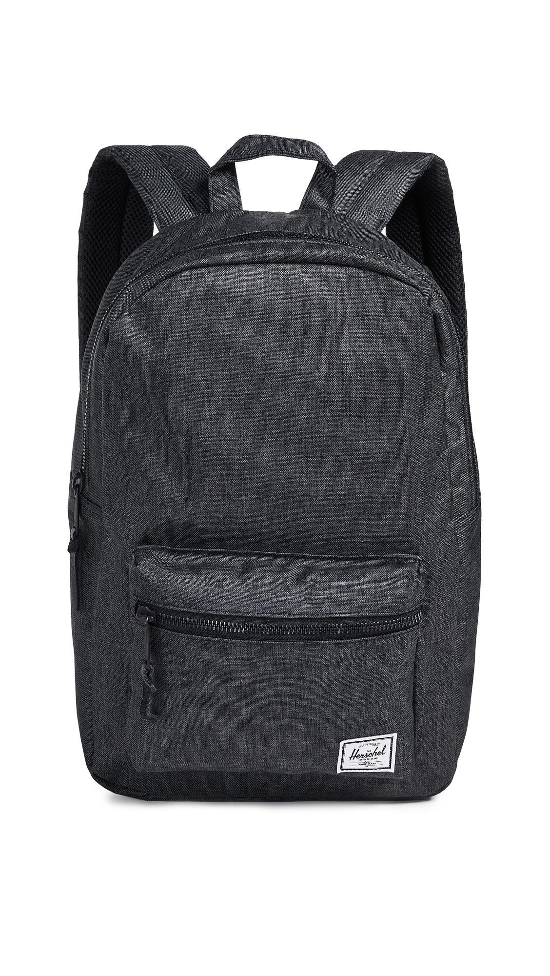 5b8e9e949e Herschel Supply Co. Settlement Mid Volume Backpack In Black Crosshatch