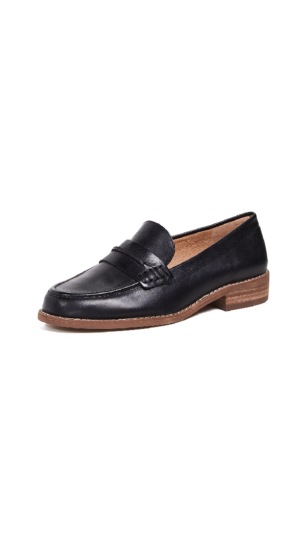 7a5e0bfa34d Madewell The Elinor Loafers In True Black