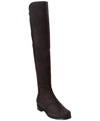 Stuart Weitzman 5050 Suede Over-The-Knee Boot In Nocolor