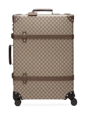 eeeb46293f4a Gucci Men's Globe-Trotter Medium Gg Canvas Suitcase Luggage In Beige ...