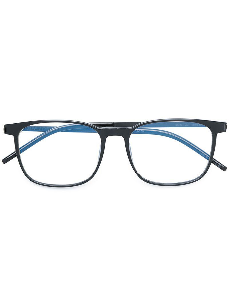 Saint Laurent Square-frame Glasses In Unavailable