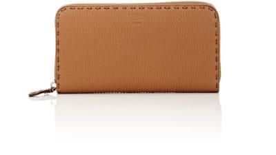 Fendi Selleria Zip-Around Wallet In Mou