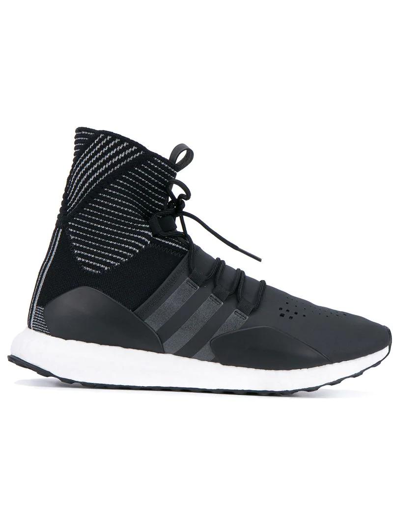 Y-3 'future' Hi-top Sneakers In Black
