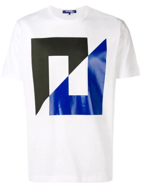 Junya Watanabe Printed T In White