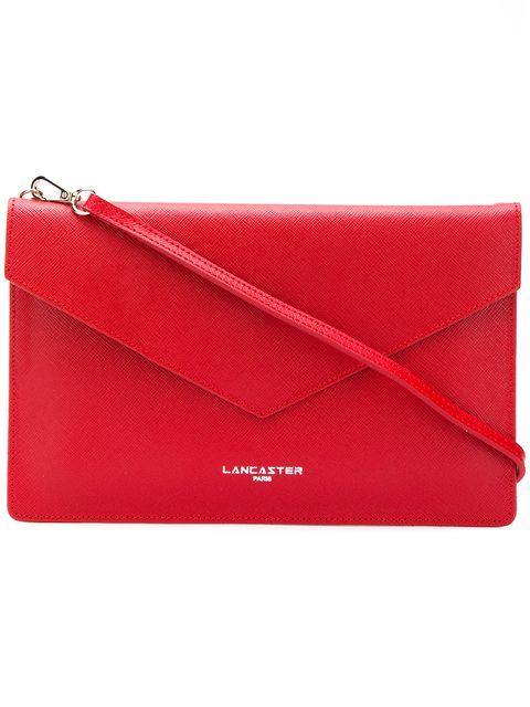 Lancaster Air Clutch Bag In Red