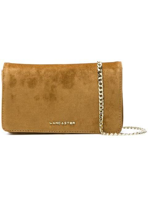 Lancaster Large Clutch Bag In Yellow