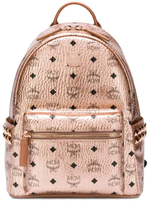 dbd3f7a93 Mcm Mini Stark Backpack In Tc001 Rose Gold | ModeSens