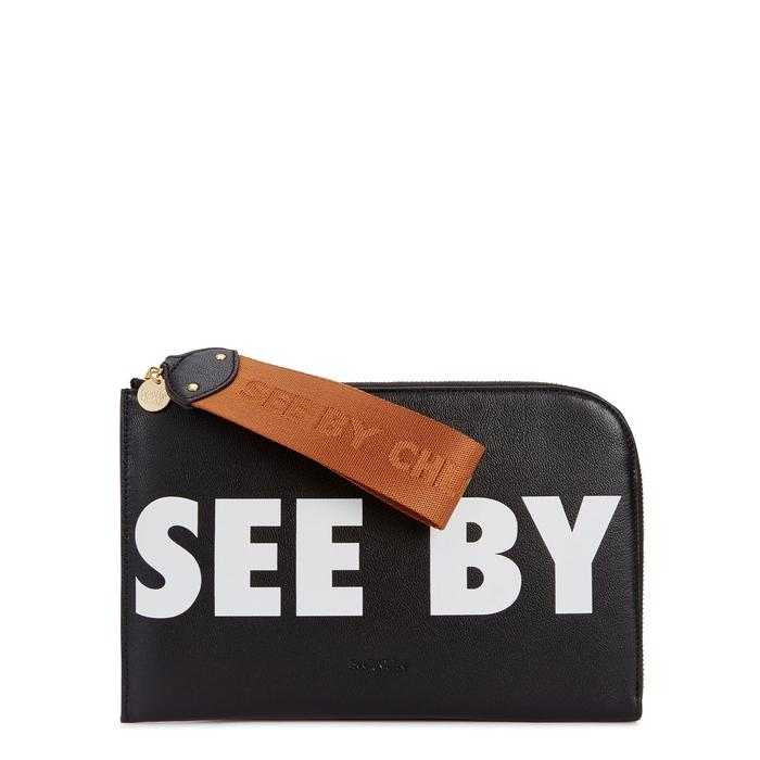 See By ChloÉ See By Chloe' Joris Pouch In Black