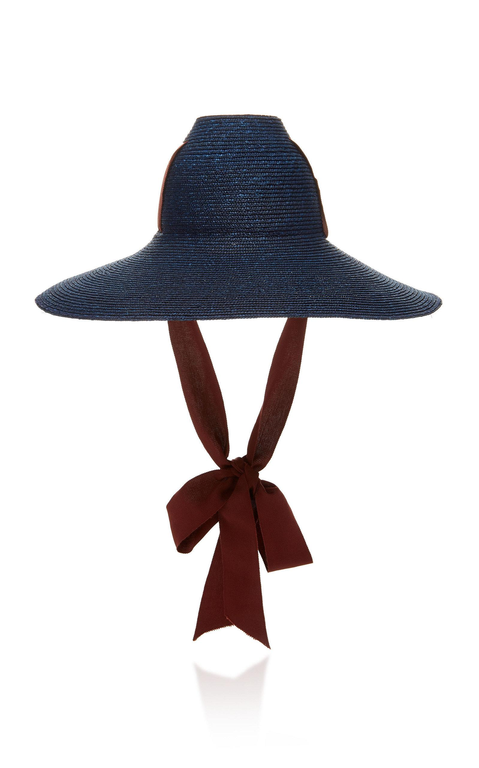 429ad307377a06 Lola Hats Little Sugar Cone Straw Hat In Blue | ModeSens