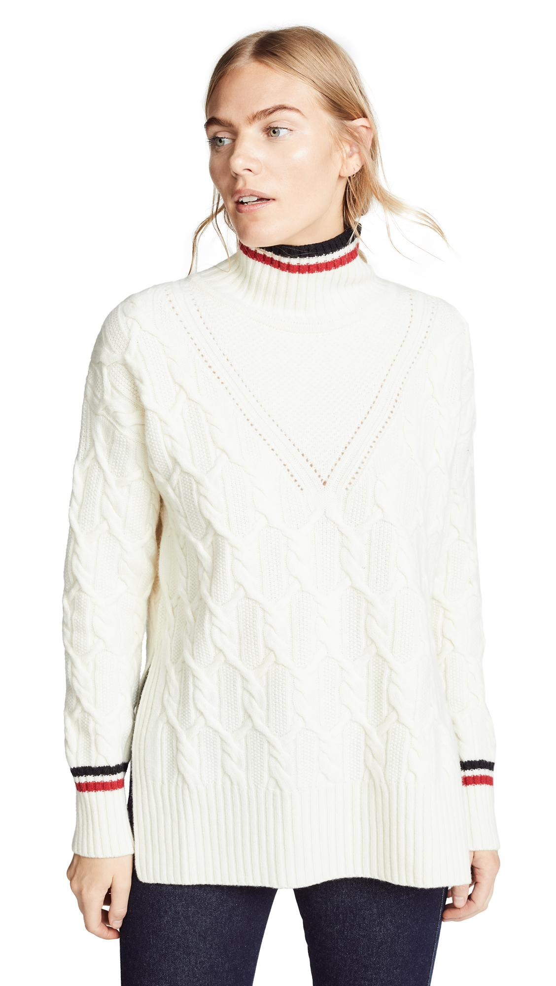 6088bec12f498a Belstaff Sawdon Cable Turtleneck Sweater In Natural | ModeSens