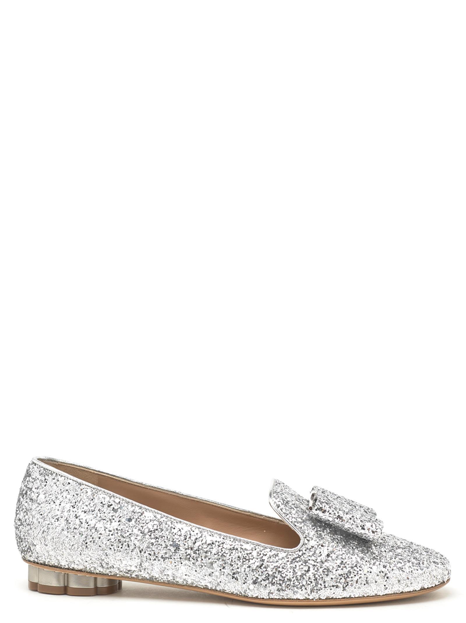 a46755dd8 Salvatore Ferragamo 'Sarno' Shoes In Silver | ModeSens