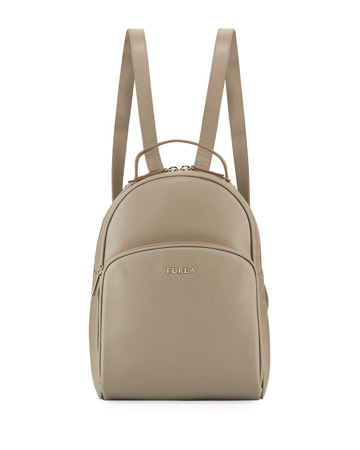 77d34a9af0ae Furla Frida Medium Vitello Leather Backpack