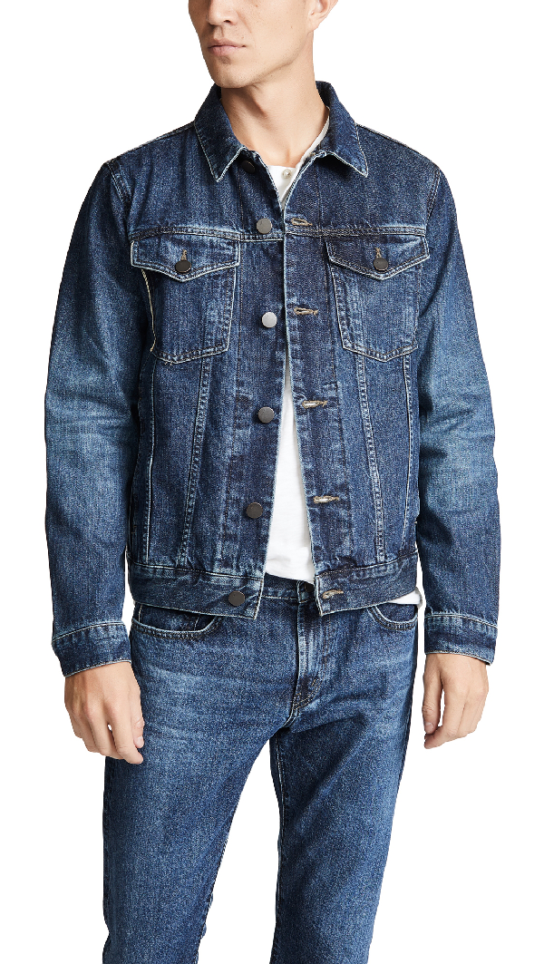J Brand Noah Denim Jacket In Stergo