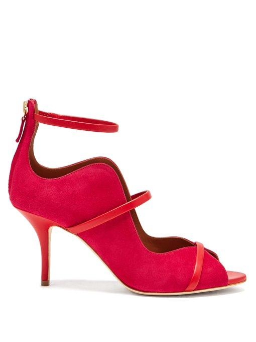 Malone Souliers Mika Suede Pumps In Pink