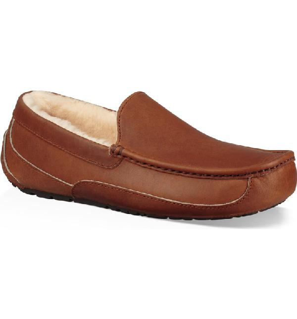 611db1bc564 Men's Ascot Pinnacle Horween Leather Slippers in Tan