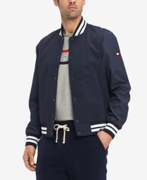 bf1c23001 Men's Wynwood Bomber Jacket, Created For Macy's in Navy Blazer