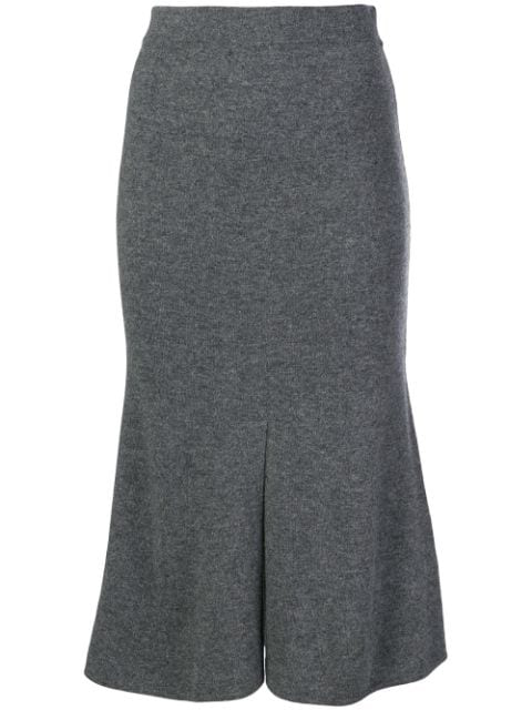 Cashmere In Love Tish Skirt In Grey