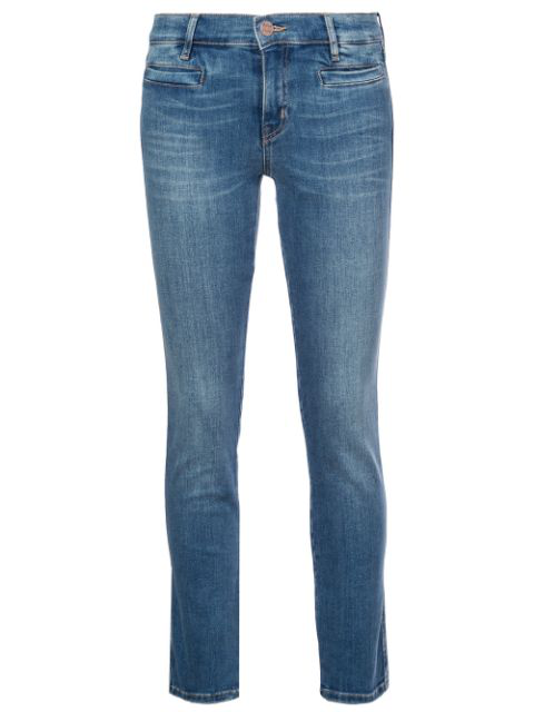 M.i.h Jeans Skinny Fitted Jeans In Blue