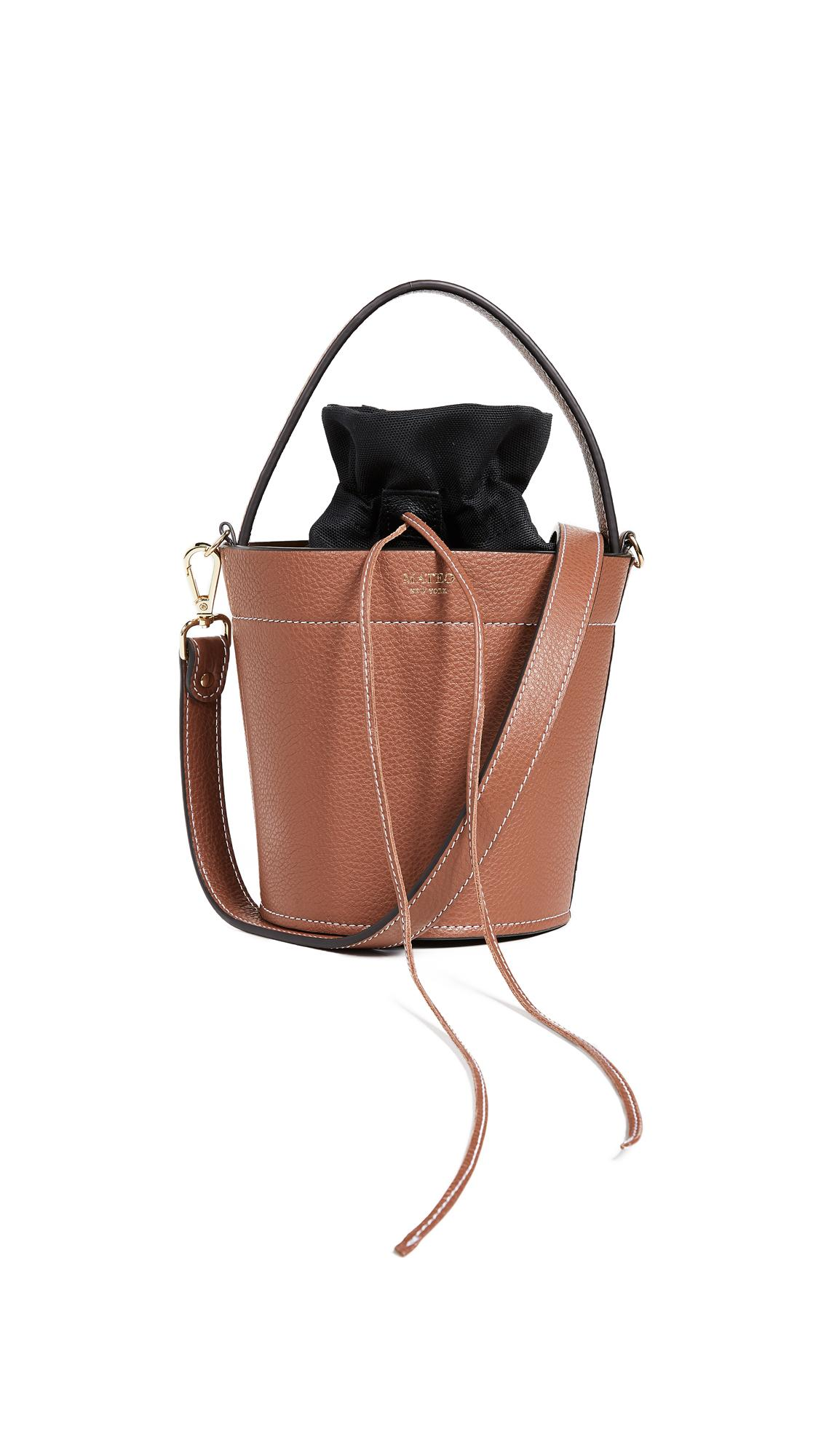 6c318a6727f9 Mateo The Madeline Bucket Bag In Cognac