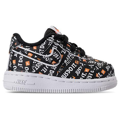 Boys' Toddler Air Force 1 Jdi Premium Casual Shoes, Black