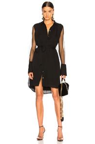 Equipment Clea Silk Dress In True Black