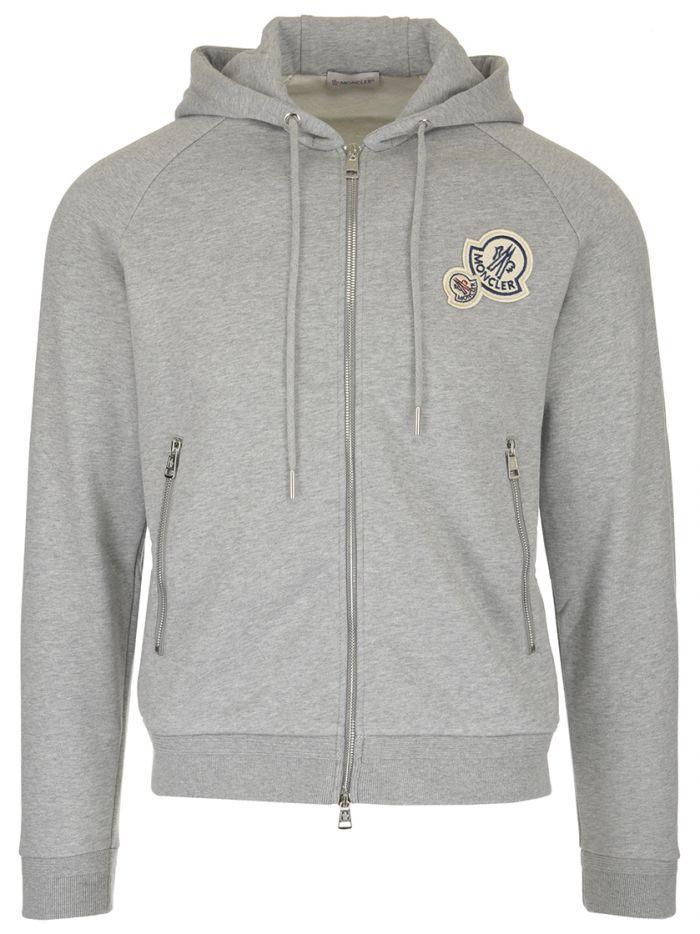 94fd32b3d Moncler Hoodie In Grey
