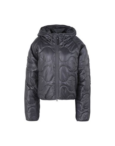 Adidas By Stella Mccartney Synthetic Down Jackets In Grey