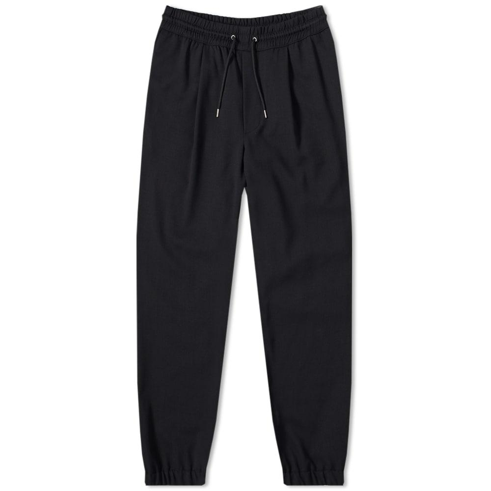 Mcq By Alexander Mcqueen Mcq Swallow Studded Volume Trousers In Deep Navy