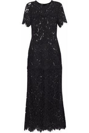 c89e29e2 Ganni Woman Duval Lace Midi Dress Black | ModeSens