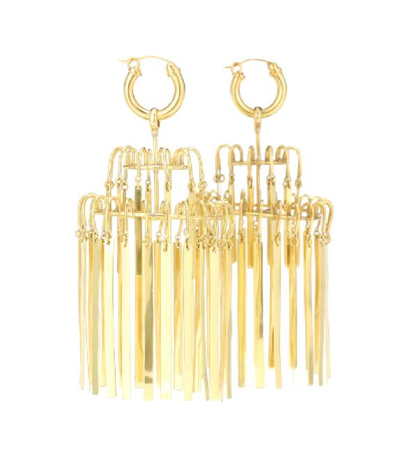 Ellery Veil Xl Chandelier Earrings In Gold