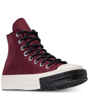 91cdb198174d Converse Men s Chuck Taylor 70 Trech Tech High Top Casual Sneakers From Finish  Line In Dark
