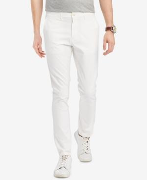 eb759ee9 Tommy Hilfiger Men's Th Flex Stretch Slim-Fit Chino Pants, Created For  Macy's In