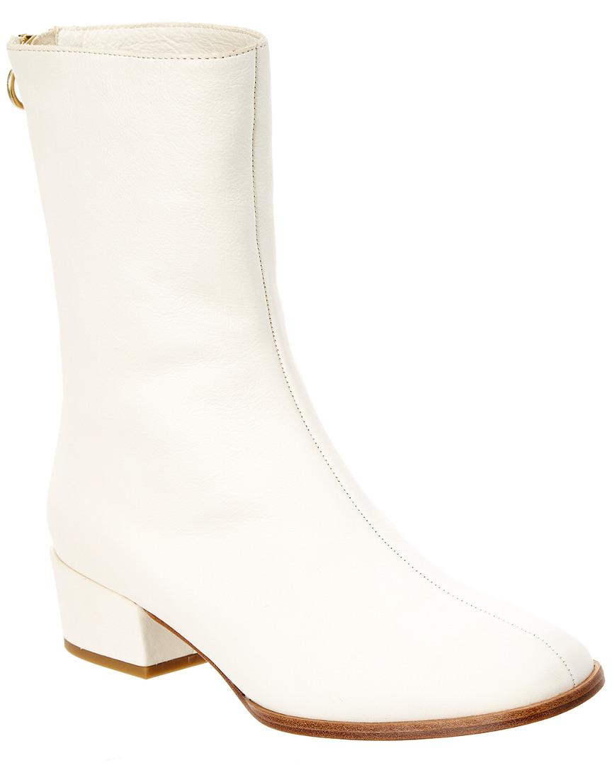 f0f954cc11 Joie Rabie Leather Bootie In White | ModeSens