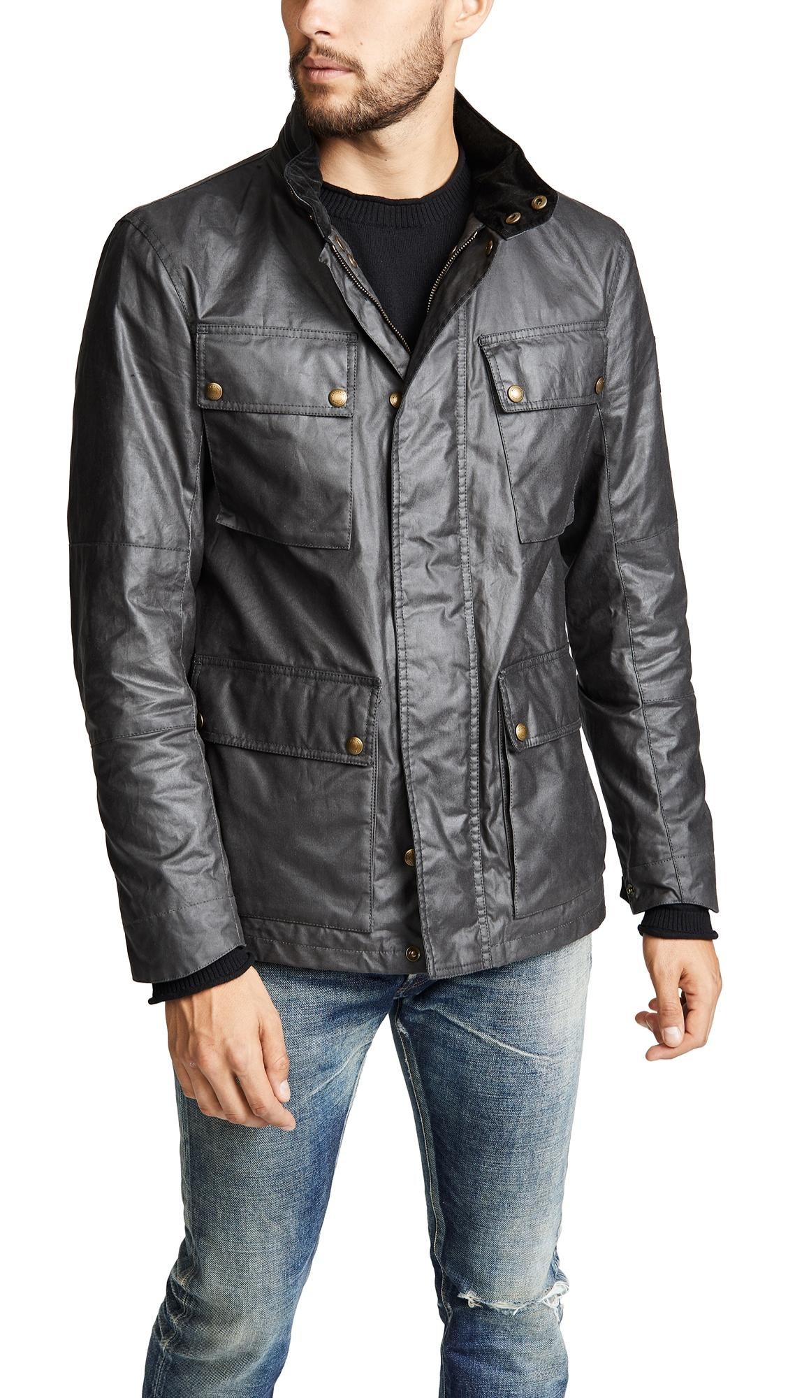 0c2707d1bea8 Belstaff Explorer Jacket In Winward Grey