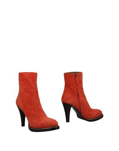 Veronique Branquinho Ankle Boots In Coral