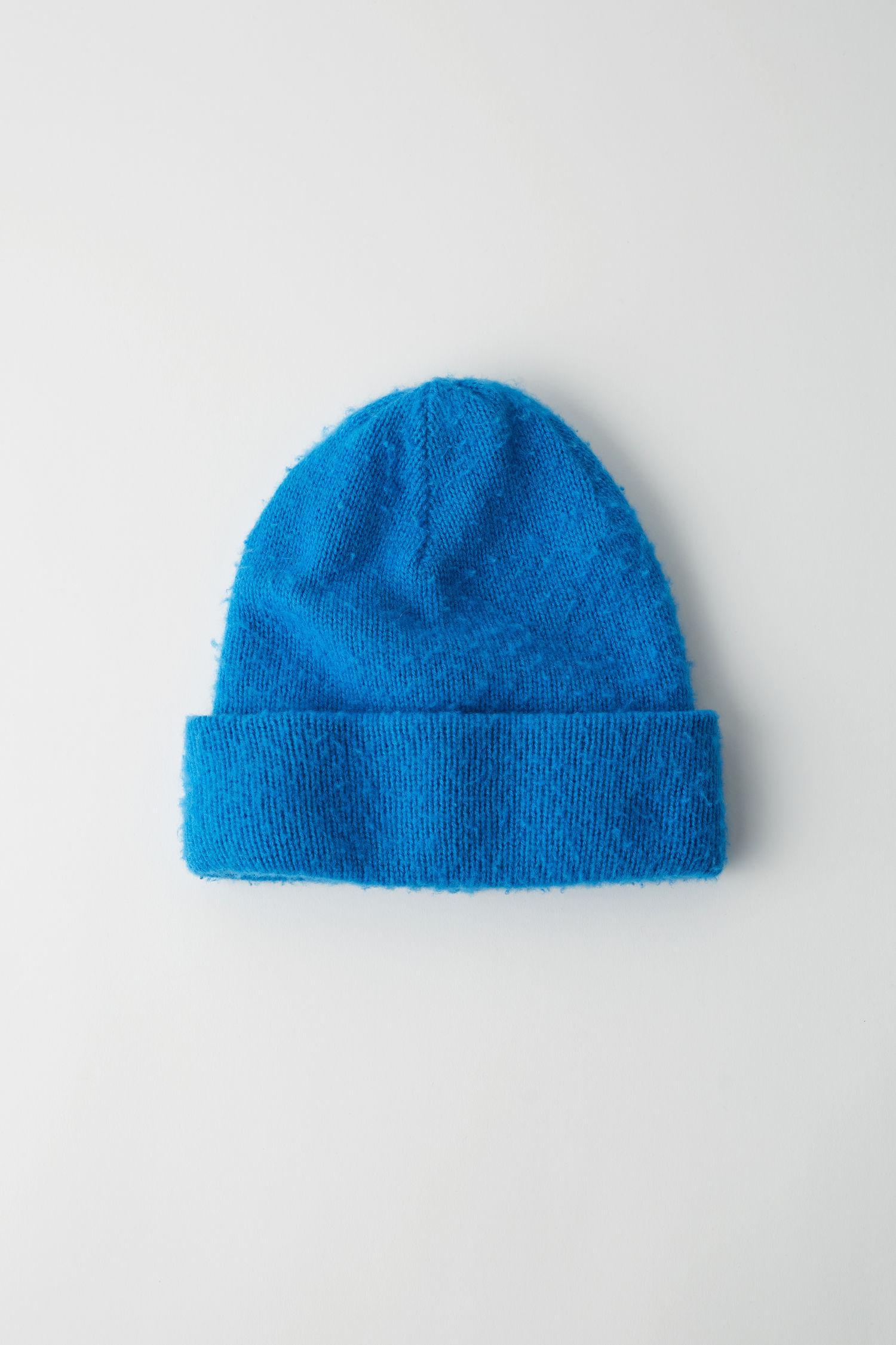 9342985c28e Acne Studios Pilled Beanie Blue