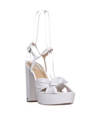 9579b1b6c39 Michael Kors Pippa Platform Front Bow Block Heel Sandals