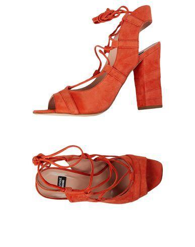 Boutique Moschino Sandals In Orange