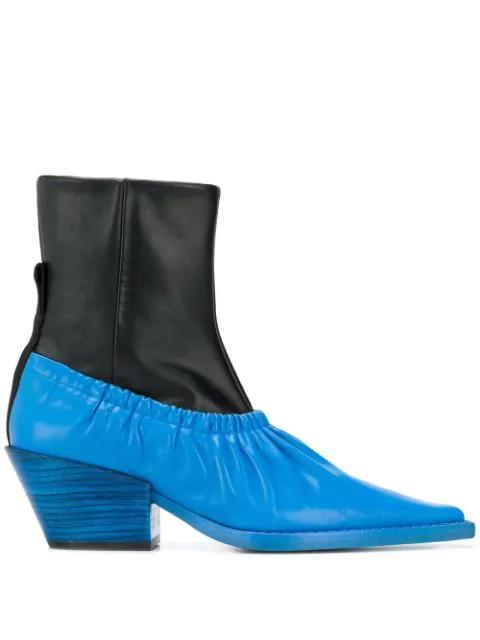 Joseph Colour-block Ankle Boots
