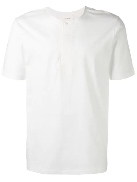 Lemaire Crew-neck Cotton-jersey T-shirt In White