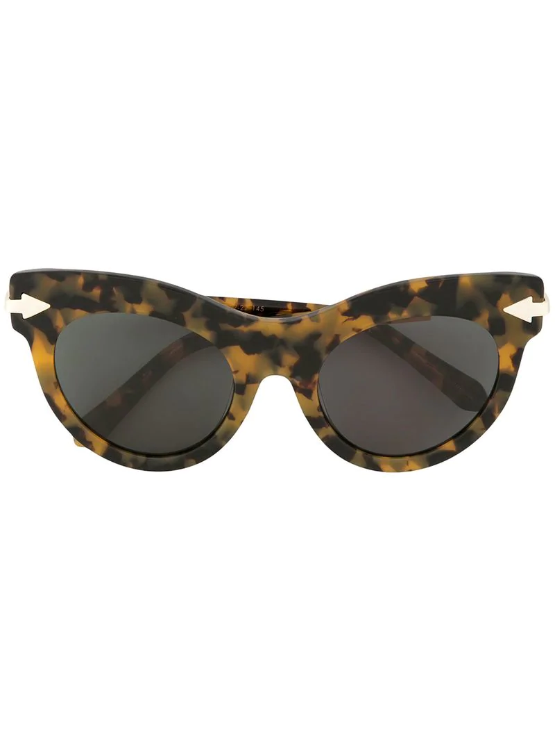 609a829b6c67 Karen Walker Miss Lark Sunglasses - Yellow | ModeSens