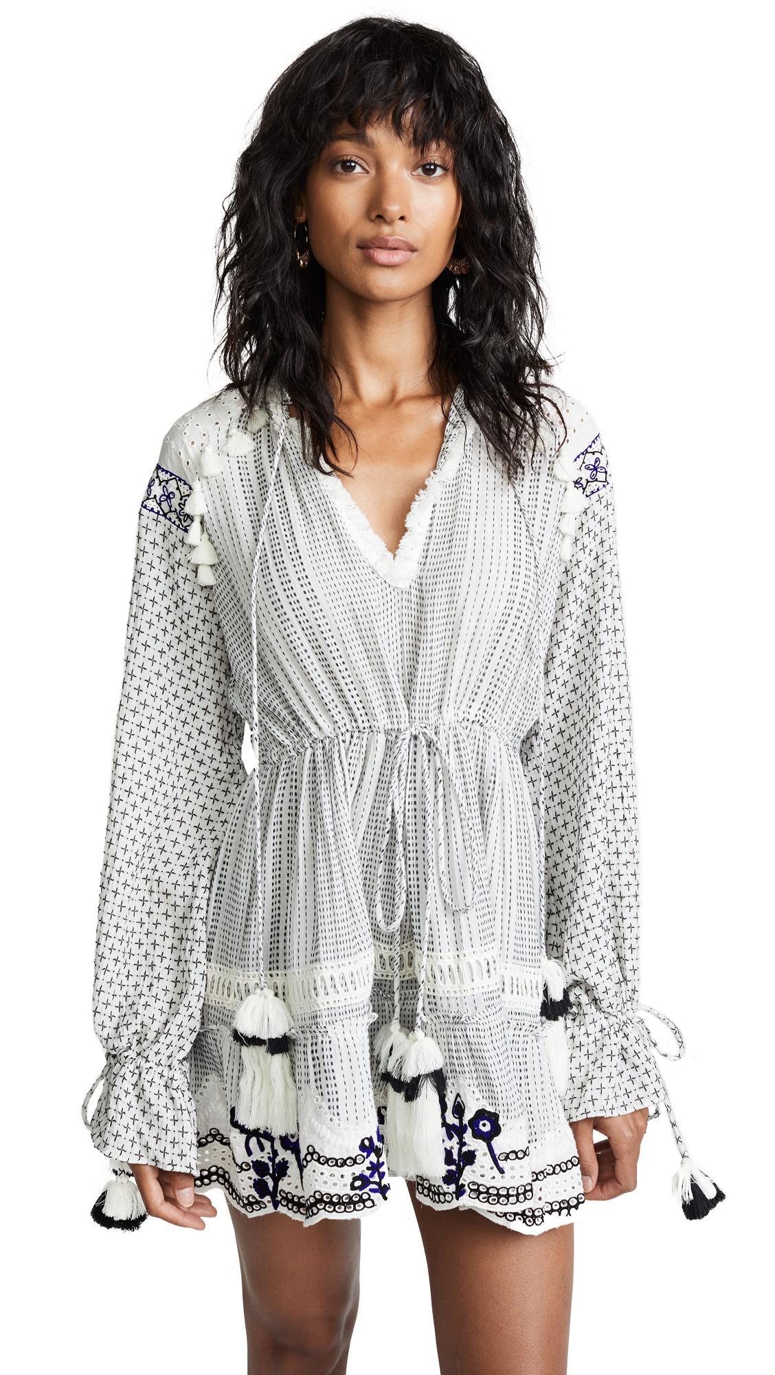 b384811adf7 Hemant   Nandita Short Dress In Black White