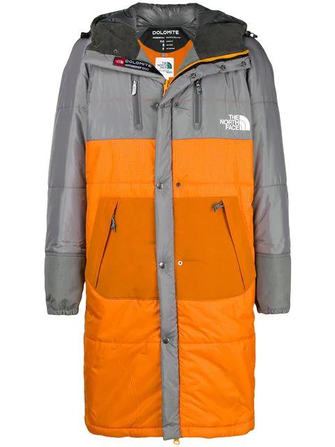 Junya Watanabe X The North Face Sleeping Bag Padded Coat In Grey