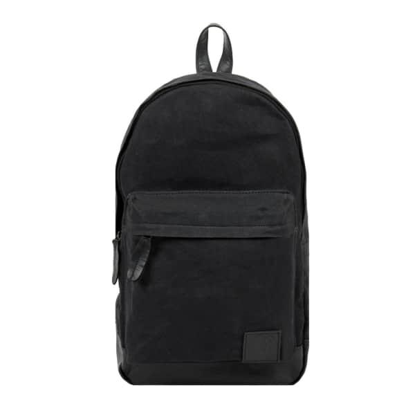 Mahi Leather Leather & Canvas Classic Backpack In Black