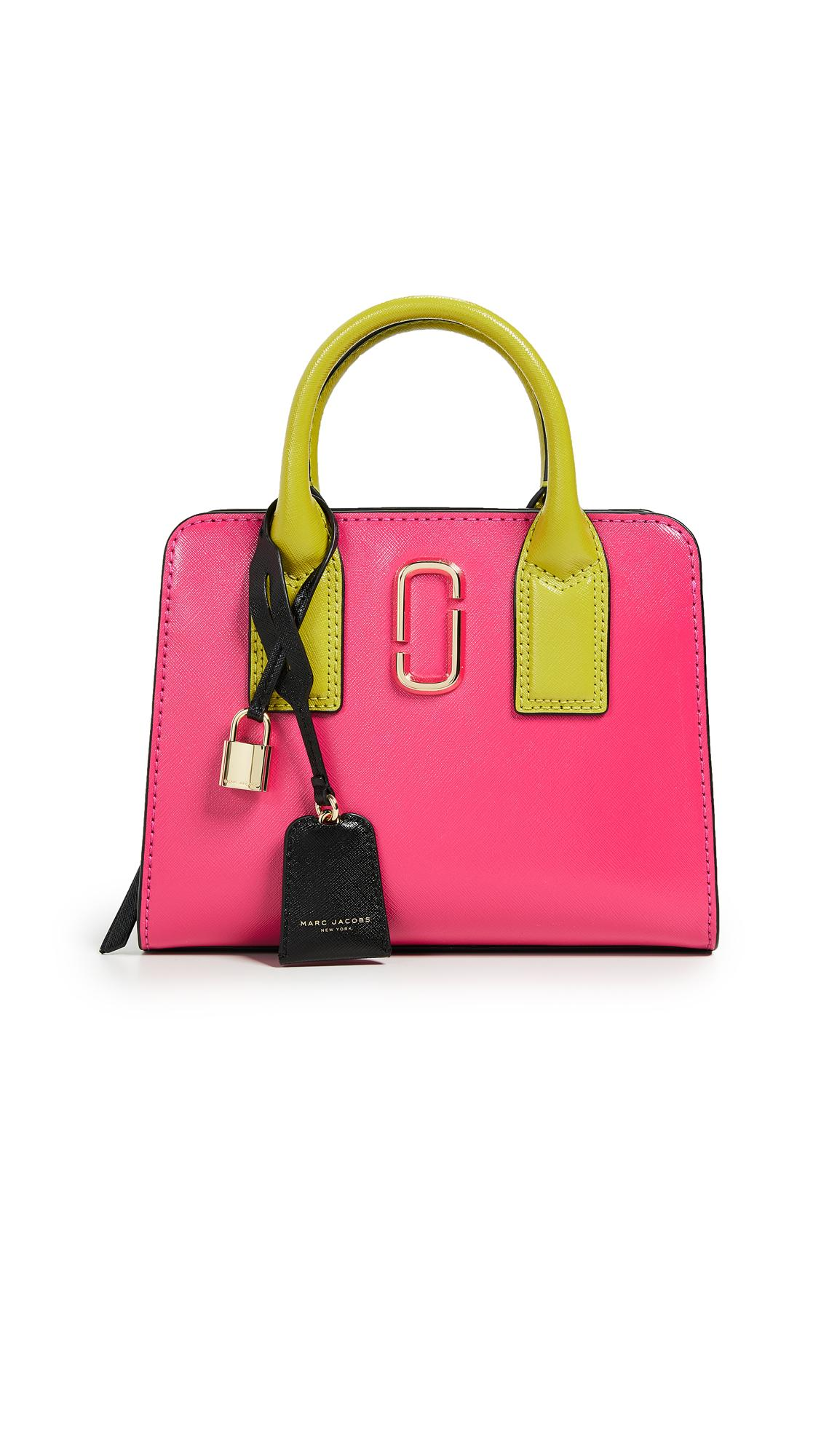 d7d60c4995f Marc Jacobs Little Big Shot Leather Tote - Pink In Peony Multi ...