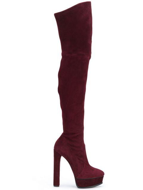Casadei Over-The-Knee Boots - Red