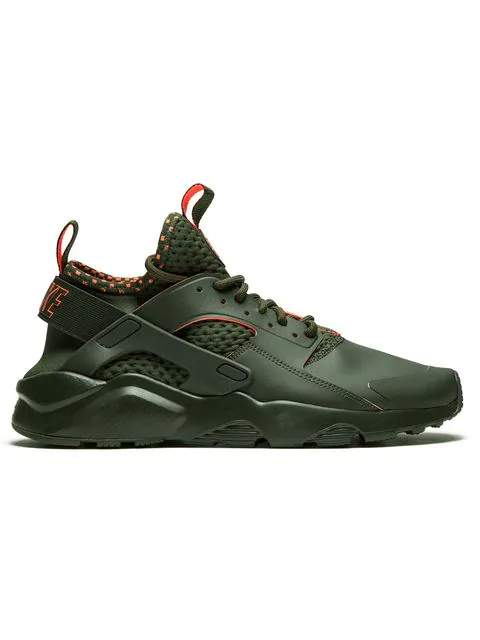 great prices various styles cheap prices Nike Air Huarache Run Ultra Se Sneakers - Green