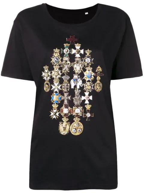 A.F.Vandevorst Joseph T-Shirt - Black