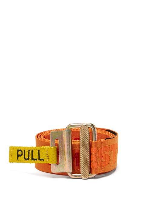 e2f19714745 Heron Preston - Стиль Embroidered Jacquard Tape Belt - Mens - Multi ...