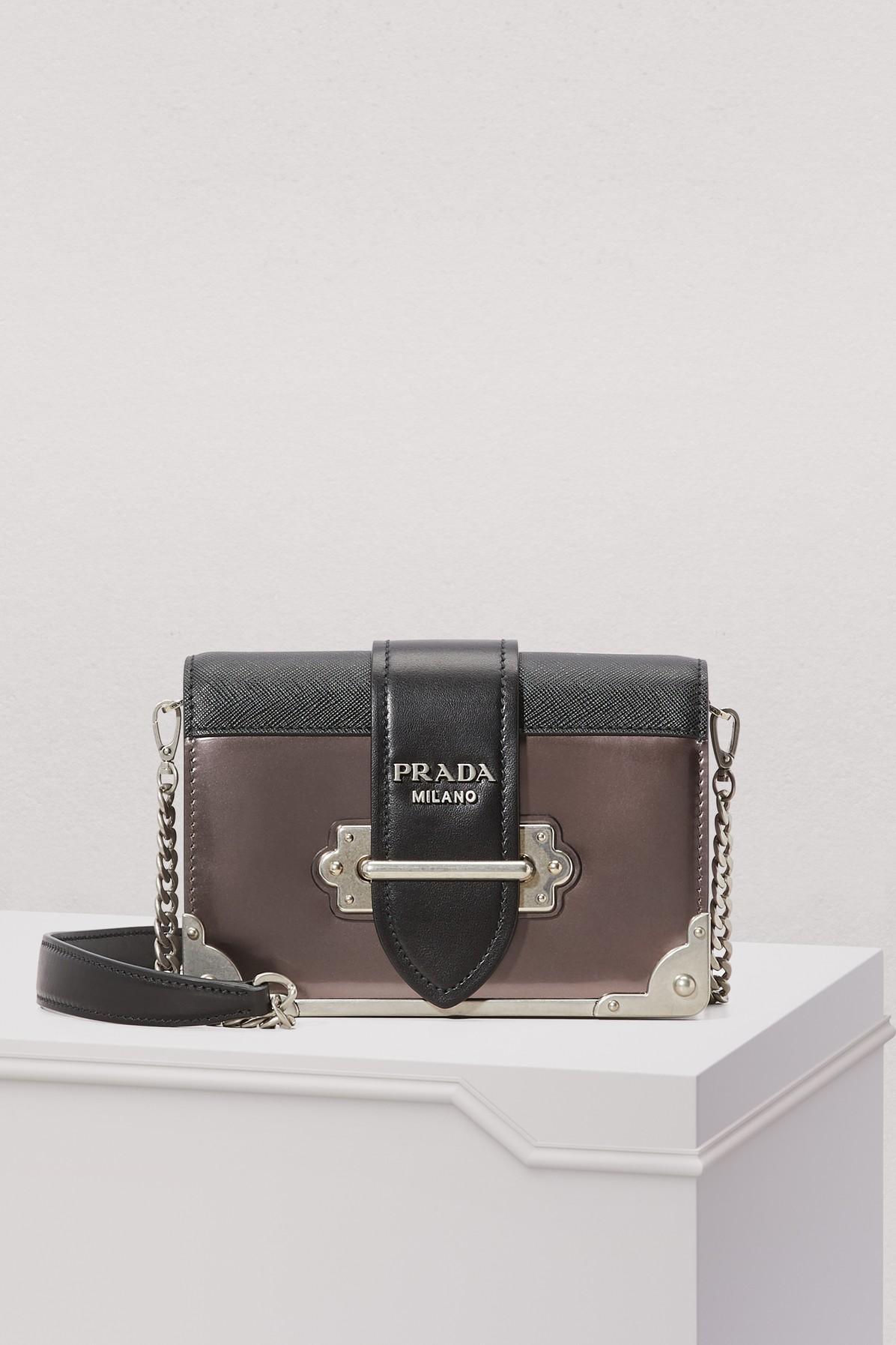 0078f2e360a0 Prada Cahier Crossbody Bag | ModeSens